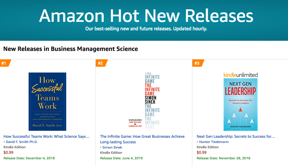David Smith 1 Amazon Hot New Release Business Management Science